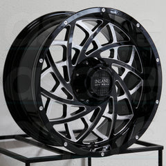 Insane Wheels IO-18 Gloss Black Milled
