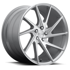 Niche Wheels M162 Invert Silver Machined