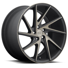 Niche Wheels M163 Invert Black Machined