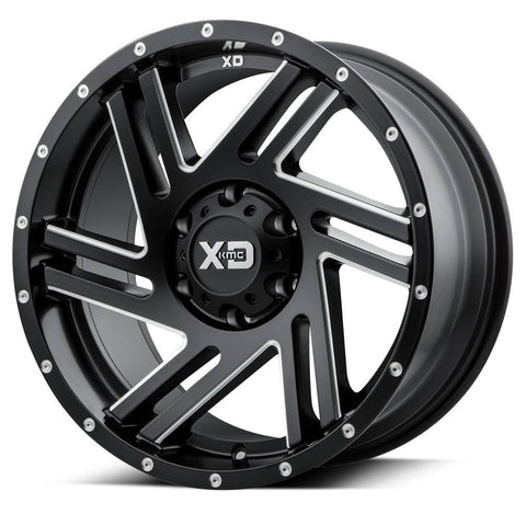 XD Wheels XD835 Swipe Black Milled