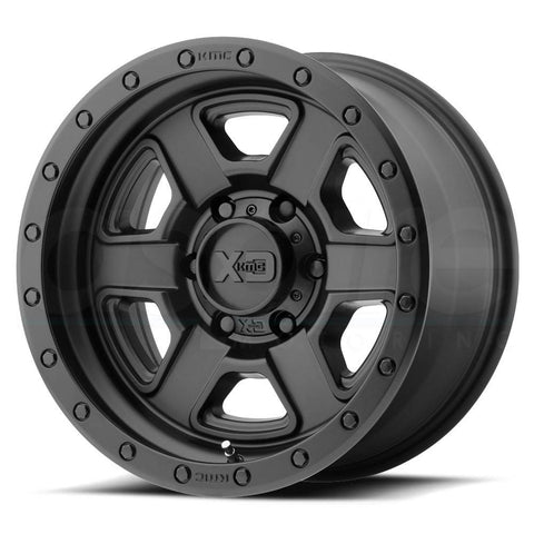 XD Wheels XD133 Fusion Off-Road Satin Black