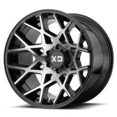 XD Wheels XD831 Chopstix Black Machine