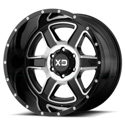 XD Wheels XD832 Fusion Black Machine