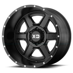 XD Wheels XD832 Fusion Satin Black