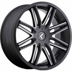 Kraze Wheels KR141 Cray Black Milled
