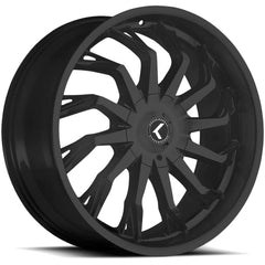 Kraze Wheels KR142 Scrilla Satin Black
