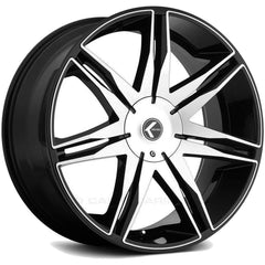 Kraze Wheels KR143 Epic Black Machined