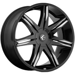 Kraze Wheels KR143 Epic Black Milled