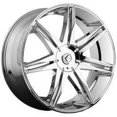 Kraze Wheels KR143 Epic Chrome