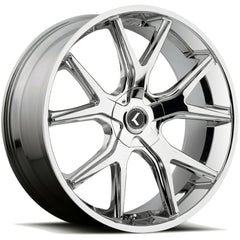 Kraze Wheels KR146 Spltz Chrome