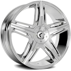 Kraze Wheels KR158 Hype Chrome