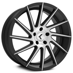 Kraze Wheels KR181 Spinner Black Machined