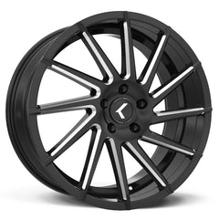 Kraze Wheels KR181 Spinner Black Milled