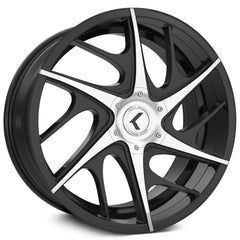 Kraze Wheels KR182 Rogue Black Machined