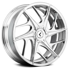 Kraze Wheels KR182 Rogue Chrome