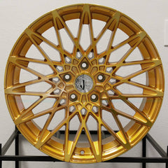 Aodhan Wheels LS001 Gold Machined Face