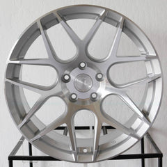 Aodhan Wheels LS002 Silver Machined Face