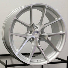 Aodhan Wheels AFF7 Silver Machined