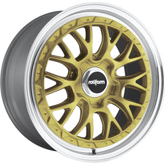 Rotiform Wheels R156 LSR Gold