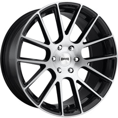 DUB Wheels Luxe S206 Black Machined