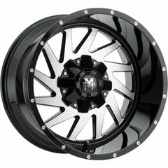Off-Road Monster Wheels M12 Black Machine