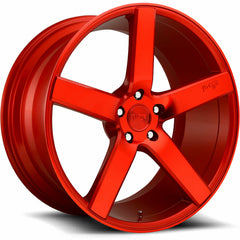 Niche Wheels M187 Milan Candy Red