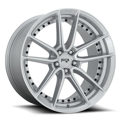 Niche Wheels M221 Dfs Silver Machine