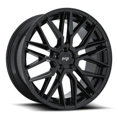 Niche Wheels M224 Gamma Gloss Black