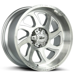 Off-Road Monster Wheels M22 Silver Brushed