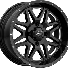 MSA Off-Road Wheels M26 Vibe Milled Gloss Black