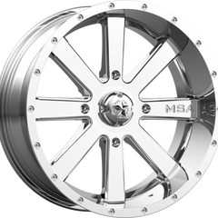 MSA Off-Road Wheels M34 Flash Chrome
