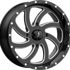 MSA Off-Road Wheels M36 Switch Gloss Black Milled