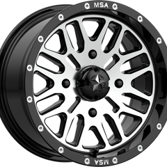 MSA Off-Road Wheels M38 Brute Black Machined