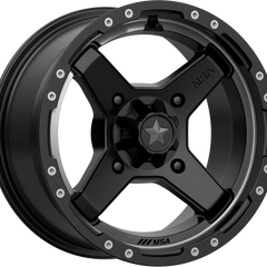 MSA Off-Road Wheels M39 Cross Satin Black Tint