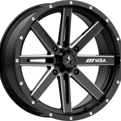 MSA Off-Road Wheels M41 Boxer Gloss Black Milled