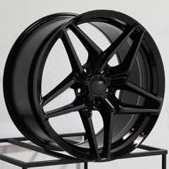 MRR Wheels Flow Forge M755 fit Corvette Black