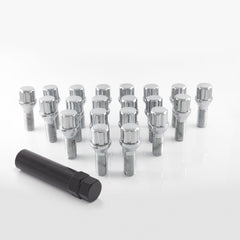 Spline Chrome Lug Bolts