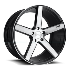 Niche Wheels M124 Milan Black Machined