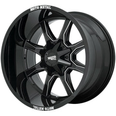 Moto Metal Wheels MO970 Black Milled Brand