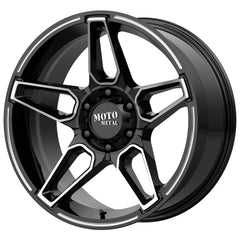 Moto Metal Wheels MO994 Fang Black Machine