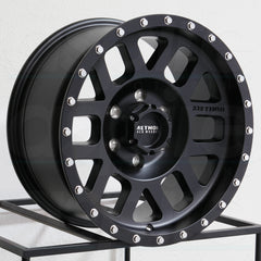 Method Wheels MR306 Mesh Matte Black