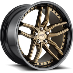 Niche Wheels M195 Methos Bronze Black