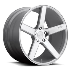 Niche Wheels M135 Milan Silver Machined