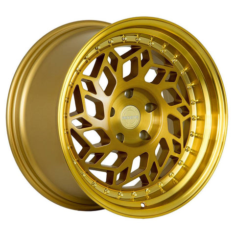 Regen5 Wheels R32 Brushed Gold