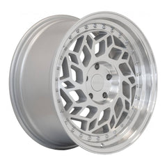 Regen5 Wheels R32 Machine Silver Polish