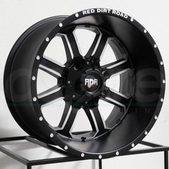 RDR Wheels RD01 Black Machine
