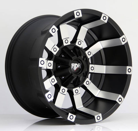 RDR Wheels RD09 Black Machine