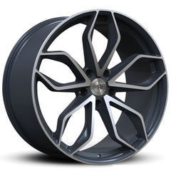 Road Force Wheels RF17 Gun Metal Machine