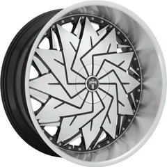 Dub Wheels S234 Dazr Black Machine