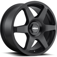 Rotiform Wheels R113 Six Matte Black